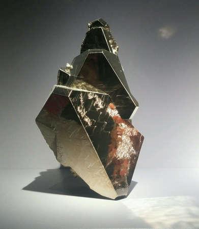 metalic texture: pyrite mineral