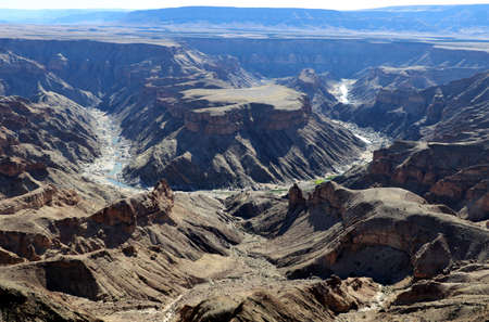 Sensational view of the Fish River Canyon - the second largest canyon in the world - Namibia Africa