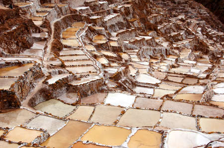 Maras salt pans - Peru South America