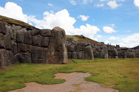 Ruinas de Sacsayhuaman en Cusco - Perú América del Sur