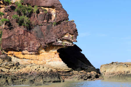 Impressive rocks - Bako national park, Sarawak, Borneo, Malaysia, Asia