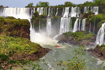 Iguazu Falls - Iguazu Nationalpark, Paran?, Brasilien, Argentinien