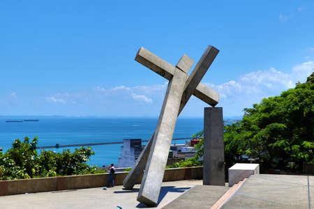 Cruz Caida Monument - Salvador da Bahia, Brazil