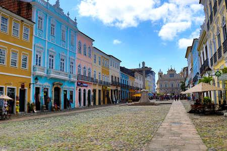 Beaux bâtiments coloniaux - Salvador da Bahia, Brésil