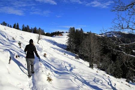Wunderschöne Winterlandschaft - Vorarlberg Österreich