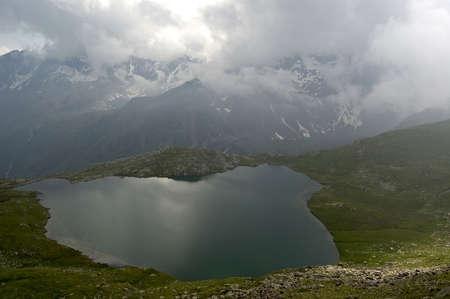 Alpine lake Stok Fotoğraf