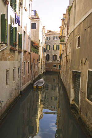 Venetian canal and buildings, Venice, Italy Stock Photo - 6543859