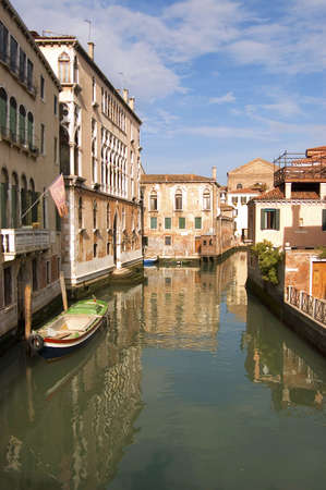 buildings and canals in Venice, Italy Stock Photo - 6543868
