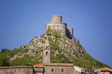 The castle in Montesarchio, Campania, Italy