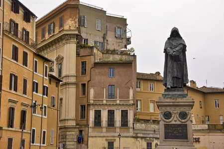 marte: Statue in Campo di Marte, Rome Stock Photo