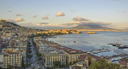 panorama of Naples bay photo
