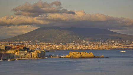 Gulf of Naples and the vusuvius