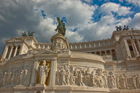 unknown soldier monument in Rome, Italy Standard-Bild