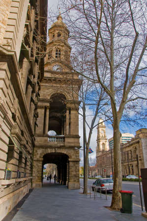adelaide building in southern australia Stock Photo