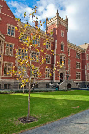 a wing of adelaide university, south australia Standard-Bild