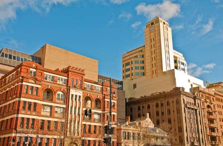 view of downtown adelaide, south australia  photo
