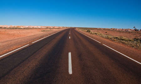 the wide land of australian outback, south australia photo