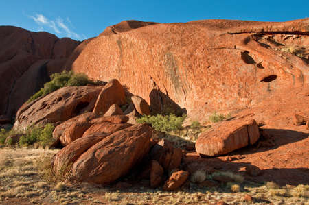 ayers: view of Ayers Rock, outback australia Northern Territory