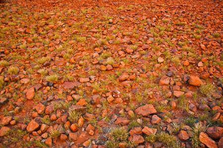 kata: red stones at Kata Tjuta, australian red center Stock Photo