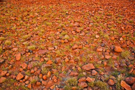 red stones at Kata Tjuta, australian red center Stock Photo