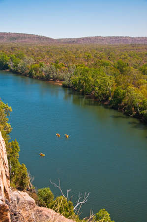 he view and the beauty of Katherin Gorge, australia
