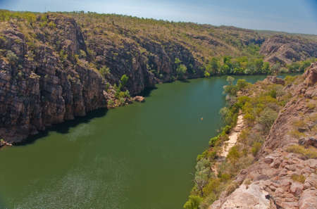 the view and the beauty of Katherin Gorge, australia