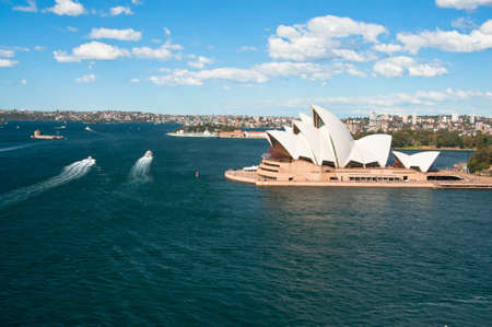SYDNEY, AUSTRALIA ? AUGUST 17: View of the Opera House most famous theatre of the city, August 17, 2010 in Sydney