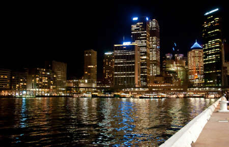 SYDNEY, AUSTRALIA ? AUGUST 18: modern buildings and skyscrapers in downtown Sydney on August 18, 2010 in Sydney, Australia. Sydney and its skyline is famous travel place for all tourist in the entire world Stock Photo - 9890259