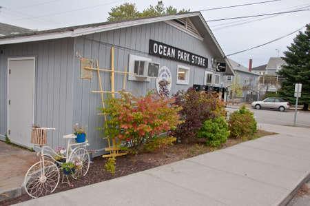 La Nouvelle-Angleterre Décoration Extérieure Dans Le Maine, Etats ...