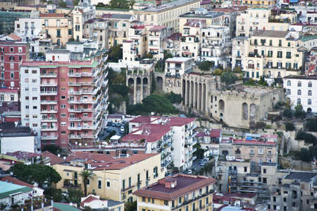 cityscape and urban scenes in Naples, Italy
