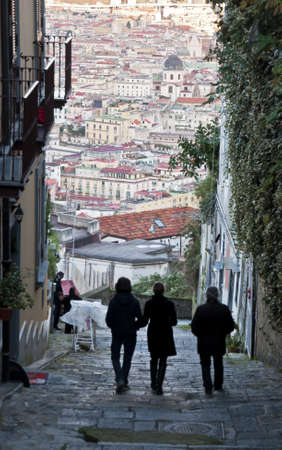 cityscape and urban scenes in Naples, Italy Stock Photo - 12193969