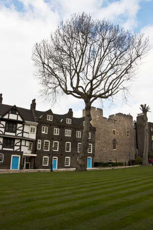 inside view of the London Tower, London, UK Stock Photo - 12904041