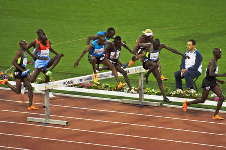 ROME . May 31: scenes of competition during the Golden Gala in the Olympic Stadium on May 31, 2012 in Rome