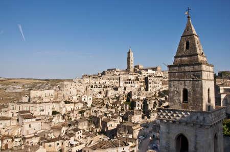 panoramic view of Matera, Basilicata, Italy