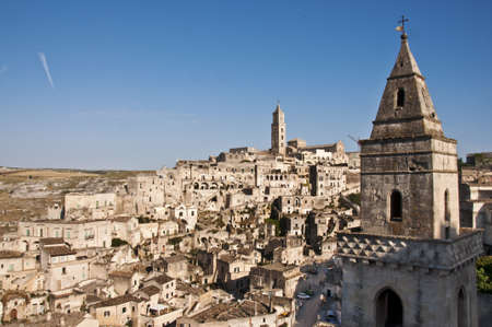 panoramic view of Matera, Basilicata, Italy Stock Photo - 14459910