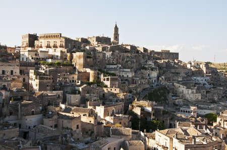 matera: panoramic view of Matera, Basilicata, Italy