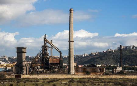 disused: zona industrial en desuso