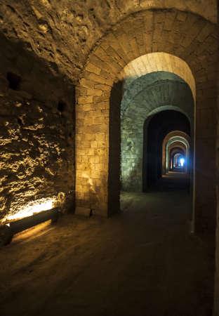 Caves of Grotte di Seiano in Naples, Italy Archivio Fotografico