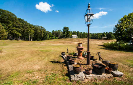 countryside in New England, Maine, Usa Stock Photo - 22698645