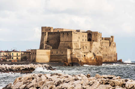view of the fortress in Naples, Italy Stock Photo - 23247388