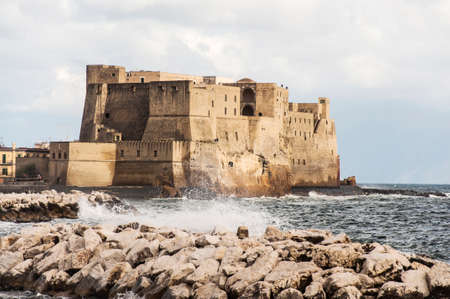 view of the fortress in Naples, Italy Stock Photo - 23247390