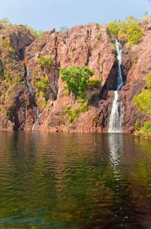 waterfall at Kakadu National Park, Australia photo