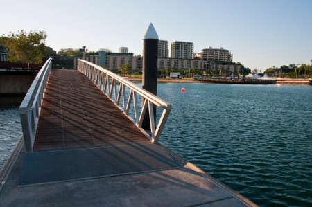 territories: view of the modern district in Darwin, Australia Stock Photo