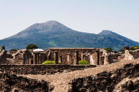archeologic ruins of Pompeii in Italy Stock Photo - 23997337