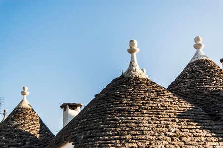 trulli: the famous Trulli building in Alberobello, Italy