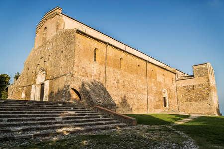 the church of San Giovanni in Venere abbey near Lanciano, Italy