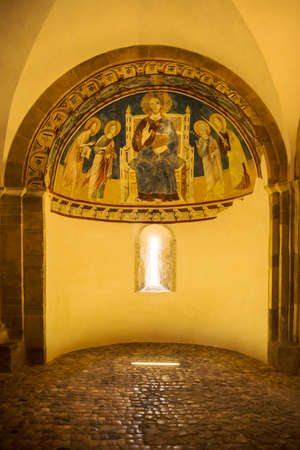 abbazia: the church of San Giovanni in Venere abbey near Lanciano, Italy