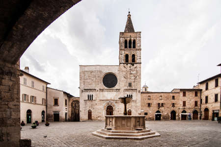spello: medieval architecture in the small village of Spello, Umbria, Italy