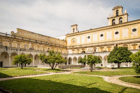 martino: the Carthusian Monastery of San Martino in Naples, Italy