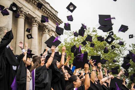 PORTSMOUTH - JULY 20: graduation ceremony at Portsmouth University on July 20, 2015 in Portsmouth, UK Editorial